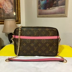 Louis Vuitton Compiegne 23 Shoulder Bag 💼 Pink
